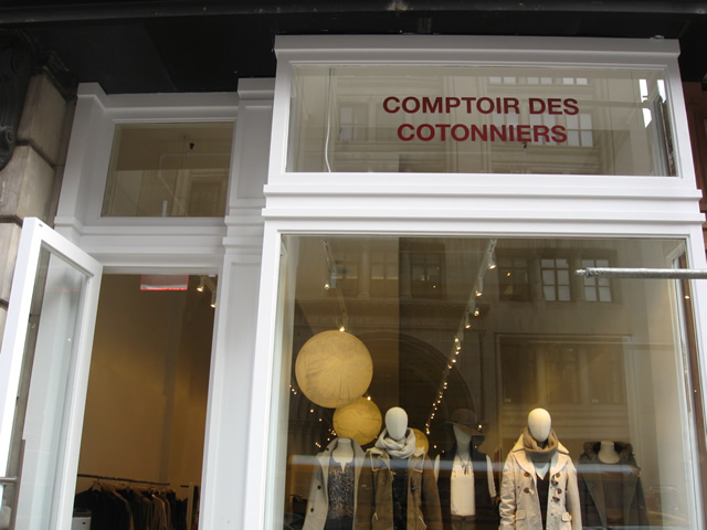 Checking in on manhattan 39 s french retail invasion racked ny - Boutiques comptoir des cotonniers ...