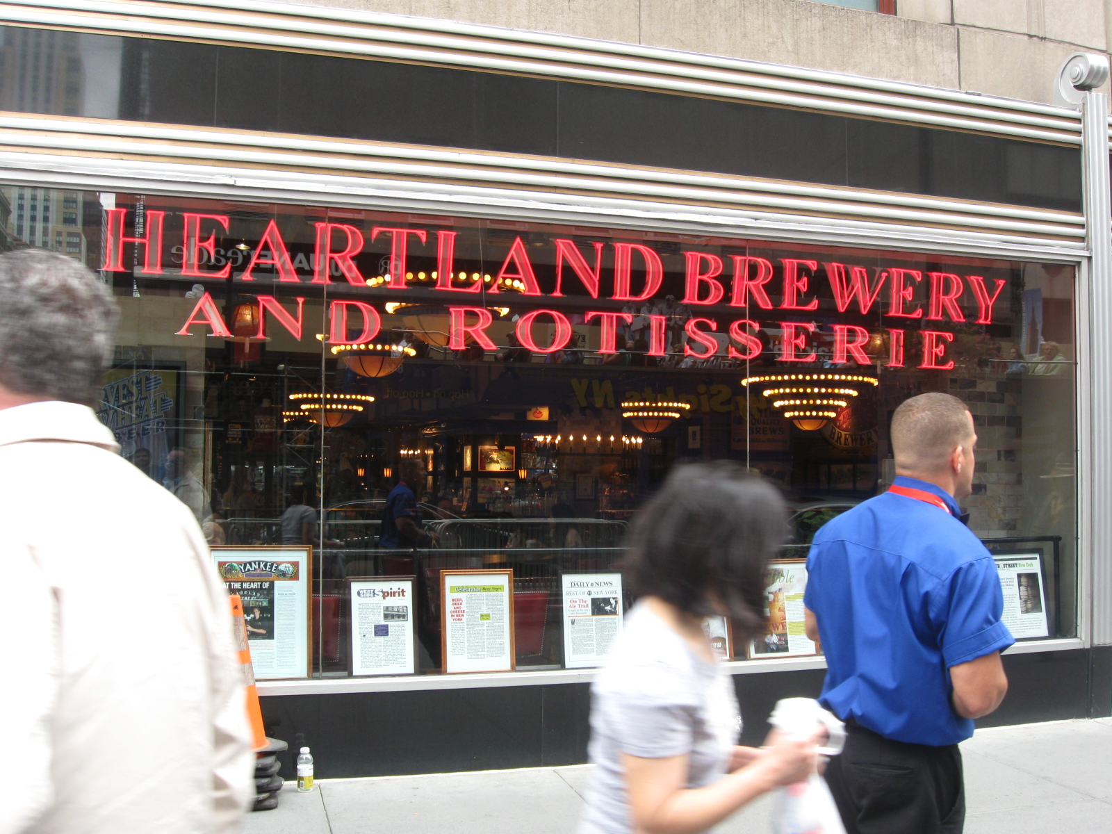 Heartland Brewery and Rotisserie 5th Avenue