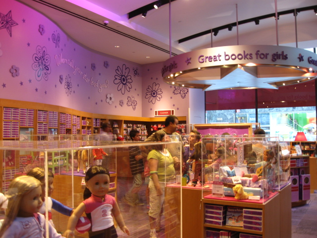 American Girl Place 609 5th Ave