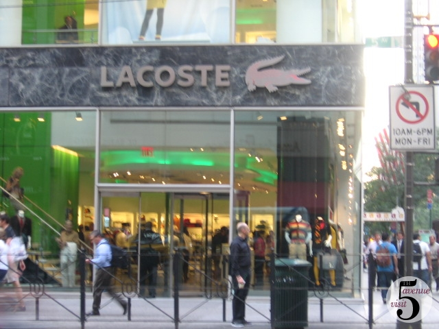 LaCoste NYC Lacoste