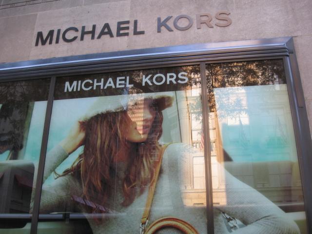 Michael kors for Michael kors rockefeller center