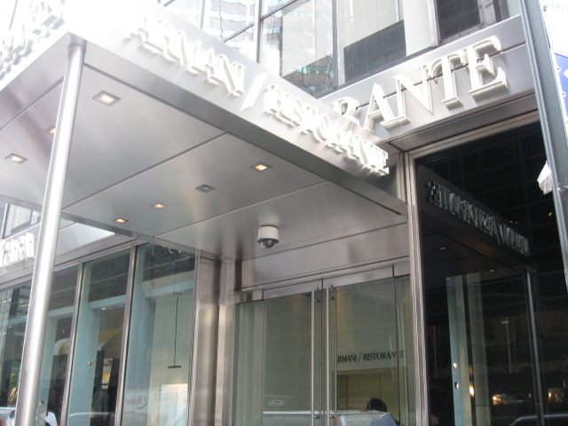 ARMANI RISTORANTE / 5TH AVENUE