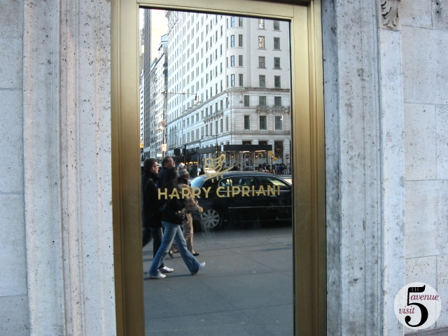 Harry Cipriani 781 Fifth Avenue
