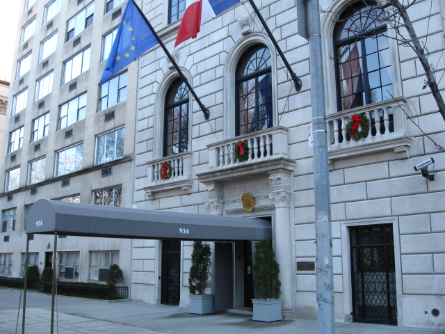 French Consulat 5th Avenue