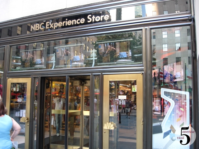 NBC Universal Store Rockefeller Plaza