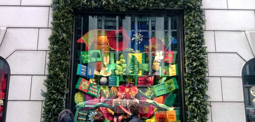 Bergdorf Goodman Windows 2017