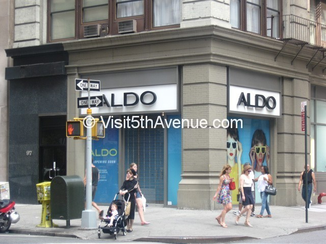 aldo shoes 14th street nyc shopping fifth