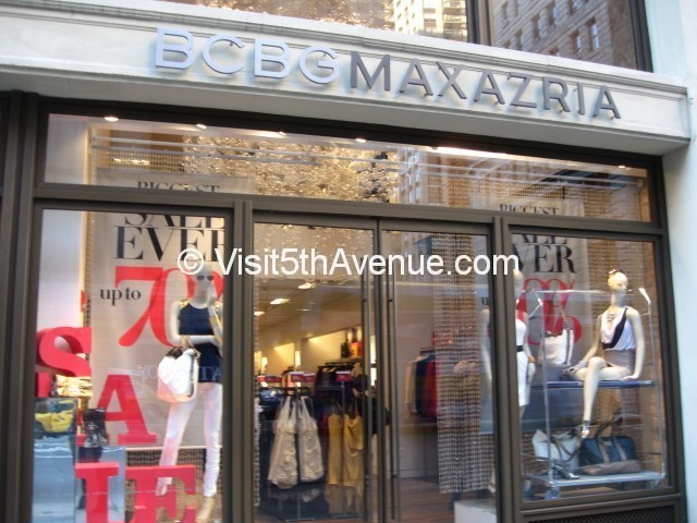 BCBG Maxazria 168 5th Avenue is now closed