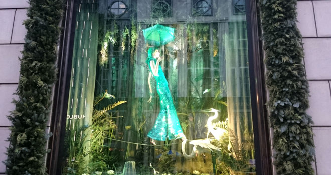 Bergdorf Goodman 2016 Holiday Windows