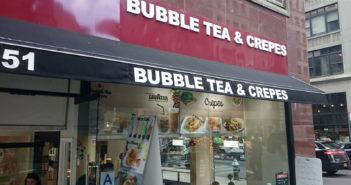 Bubble Tea & Crepes 251 5th Ave.