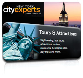 ABOUT US. City Experts NY is a full service concierge company which offers a complete menu of services, including: theater, sightseeing tours, airport transportation, dining, and almost any other service that will make any business and vacation travelers visit to New York City an unforgettable one.