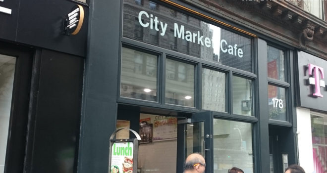 City Market Cafe 178 5th Ave.