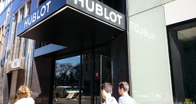Hublot Boutique 743 5th Avenue