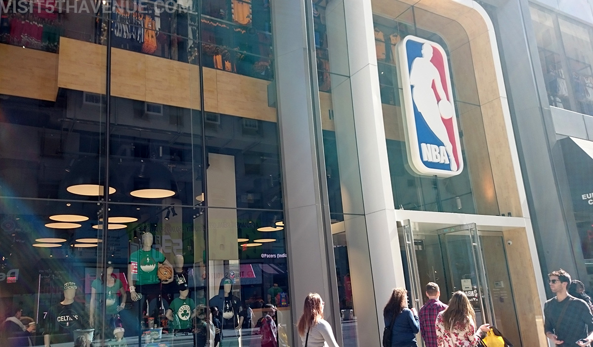 This is a great store. Plenty of authentic gear to choose from, even have a section for my Hubby's favorite Mitchel and Ness. There is even an area to shoot hoops on the second floor.7/10(49).