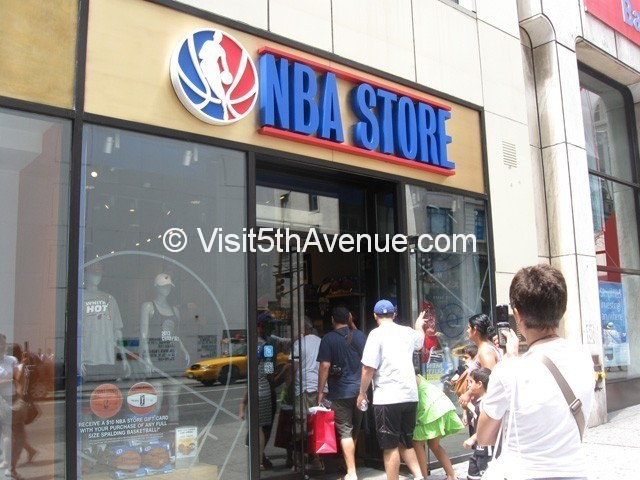 NBA Store 590 5th Ave