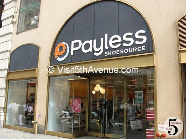 Payless Shoe Source 5th Avenue is now closed