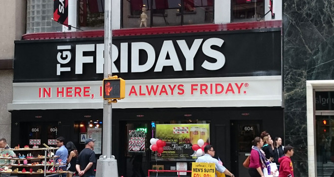 TGI Friday's 604 5th Avenue
