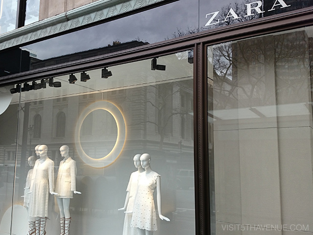 ZARA 500 Fifth Avenue