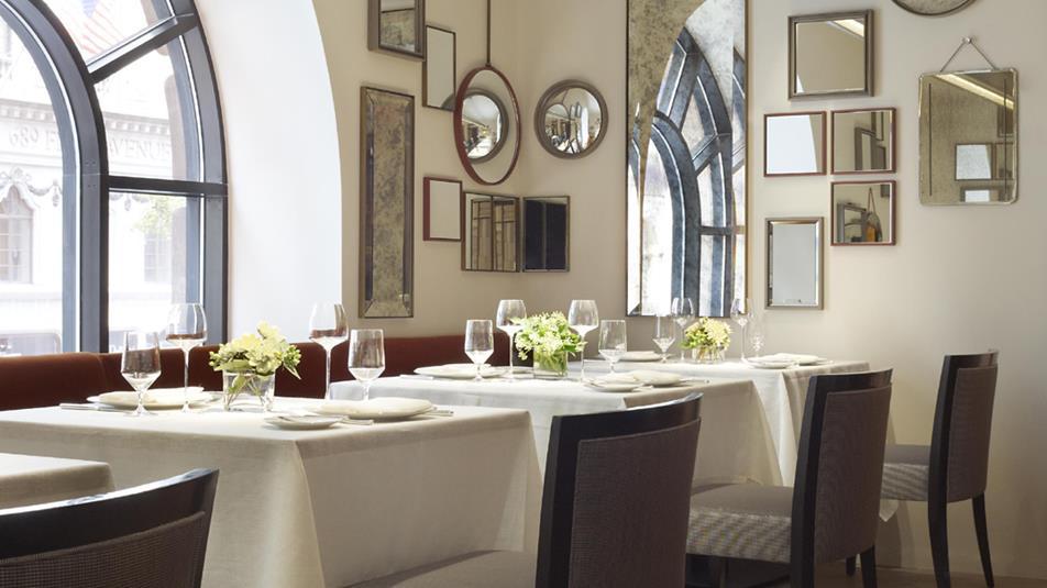 Clement Restaurant Mirror Room
