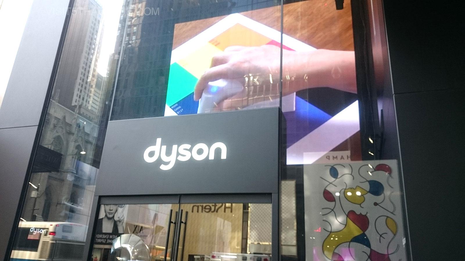 Dyson Demo Store 640 5th Avenue